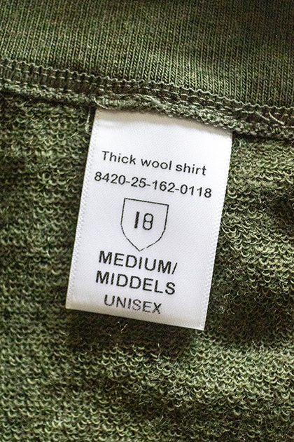 Thick wool shirt 8420-25-162-0118