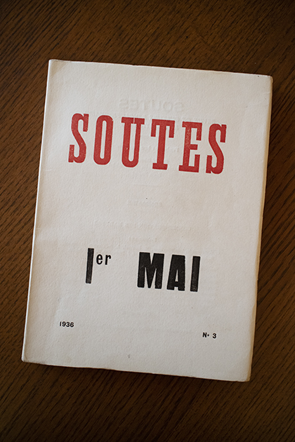 Soutes no3 1936