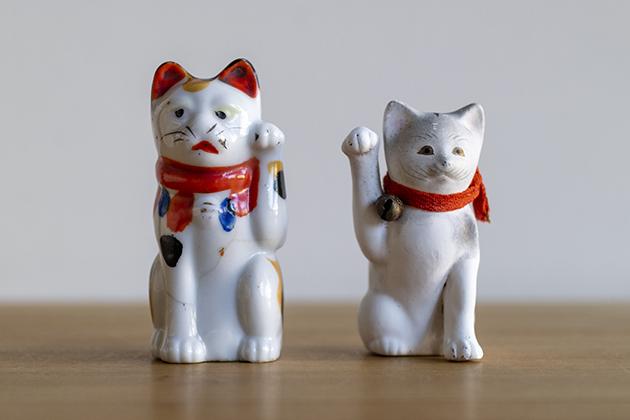 1900年から1920年ごろの招き猫