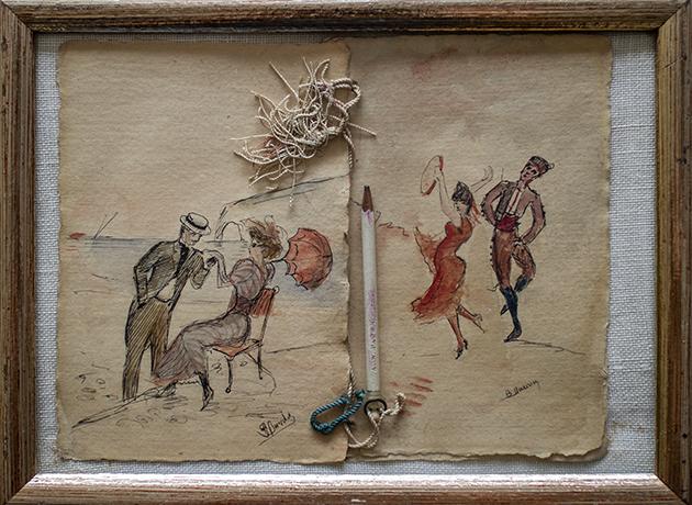 19世紀のCarnet de bal