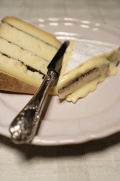 トリュフ入りチーズ
