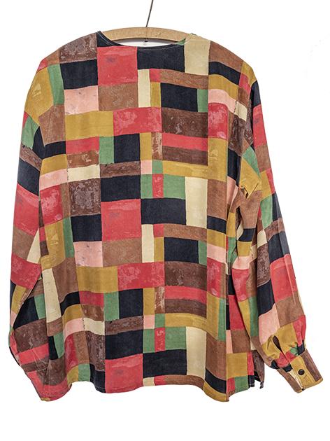 1980年代シルクシャツ