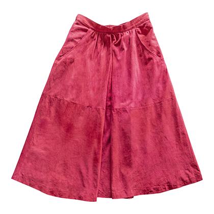 1970年代スウェードスカート