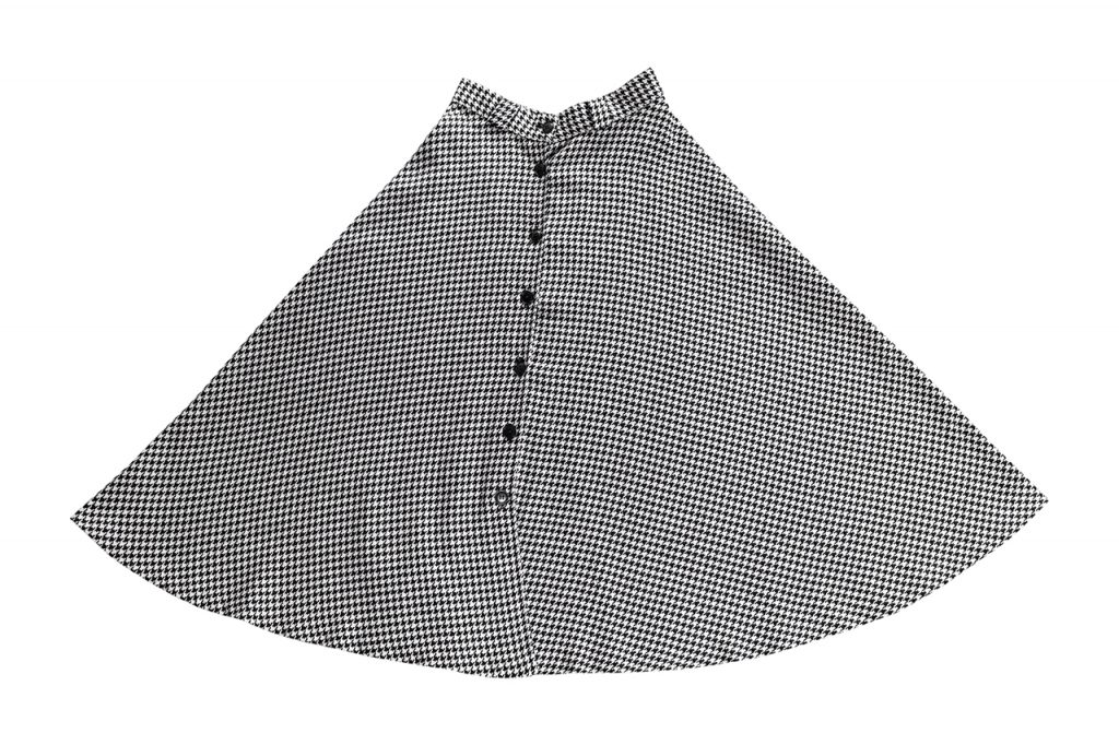 1970-80年代の千鳥格子サーキュラースカート