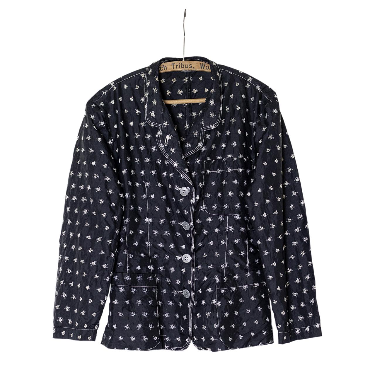 Gaultier Juniorスカル刺繍ドットジャケット