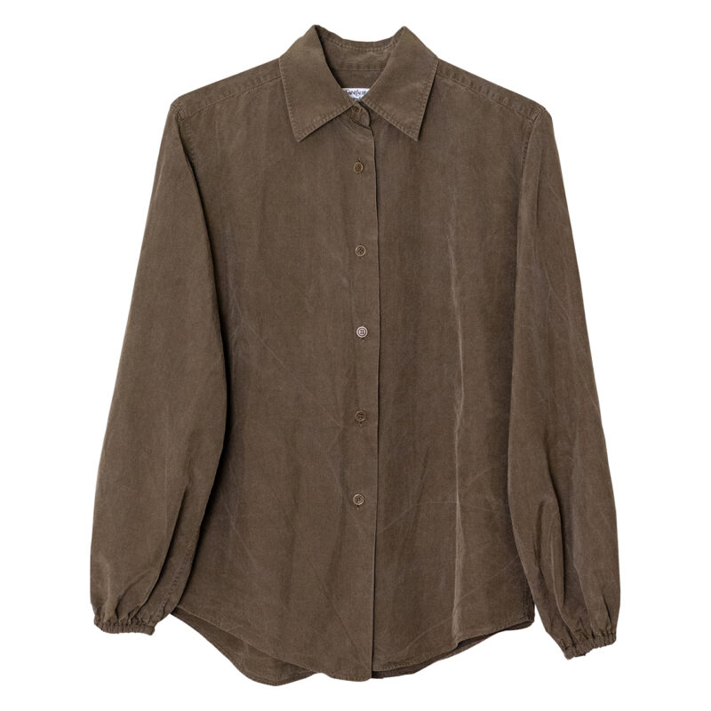 1980年代後半YSL rive gaucheのシャツ