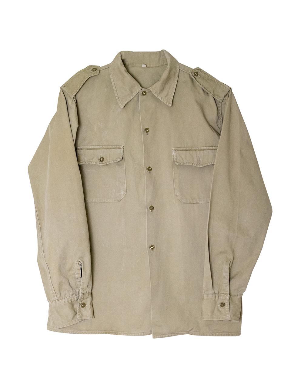 1950年代フランス軍コットンシャツ