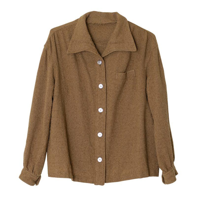 1950年代のウール地シャツジャケット