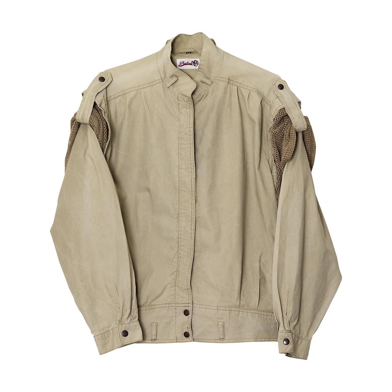1980年代コットン地ジャケット