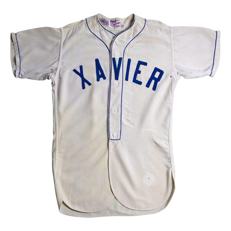 1940-50年代のフランネル地野球ユニフォーム