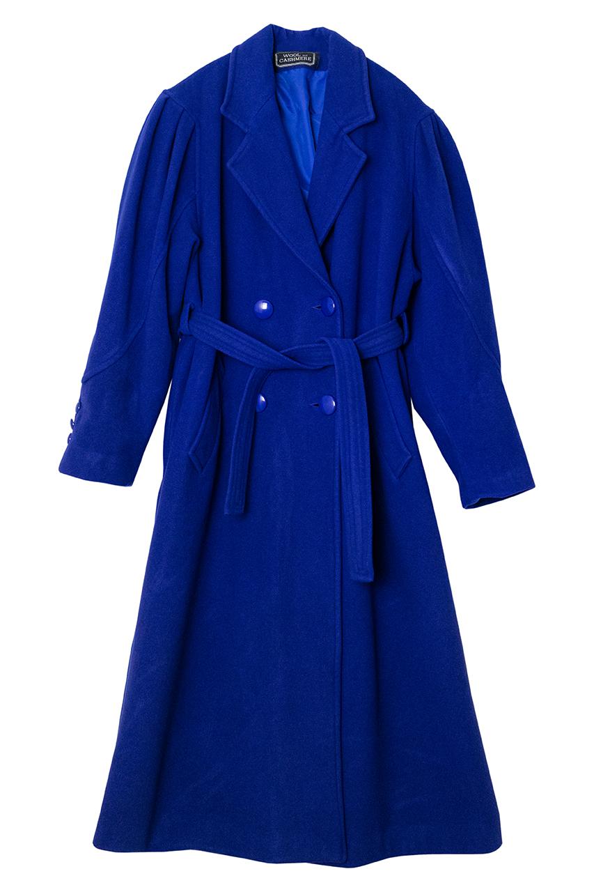 1980年代ブルーのコート