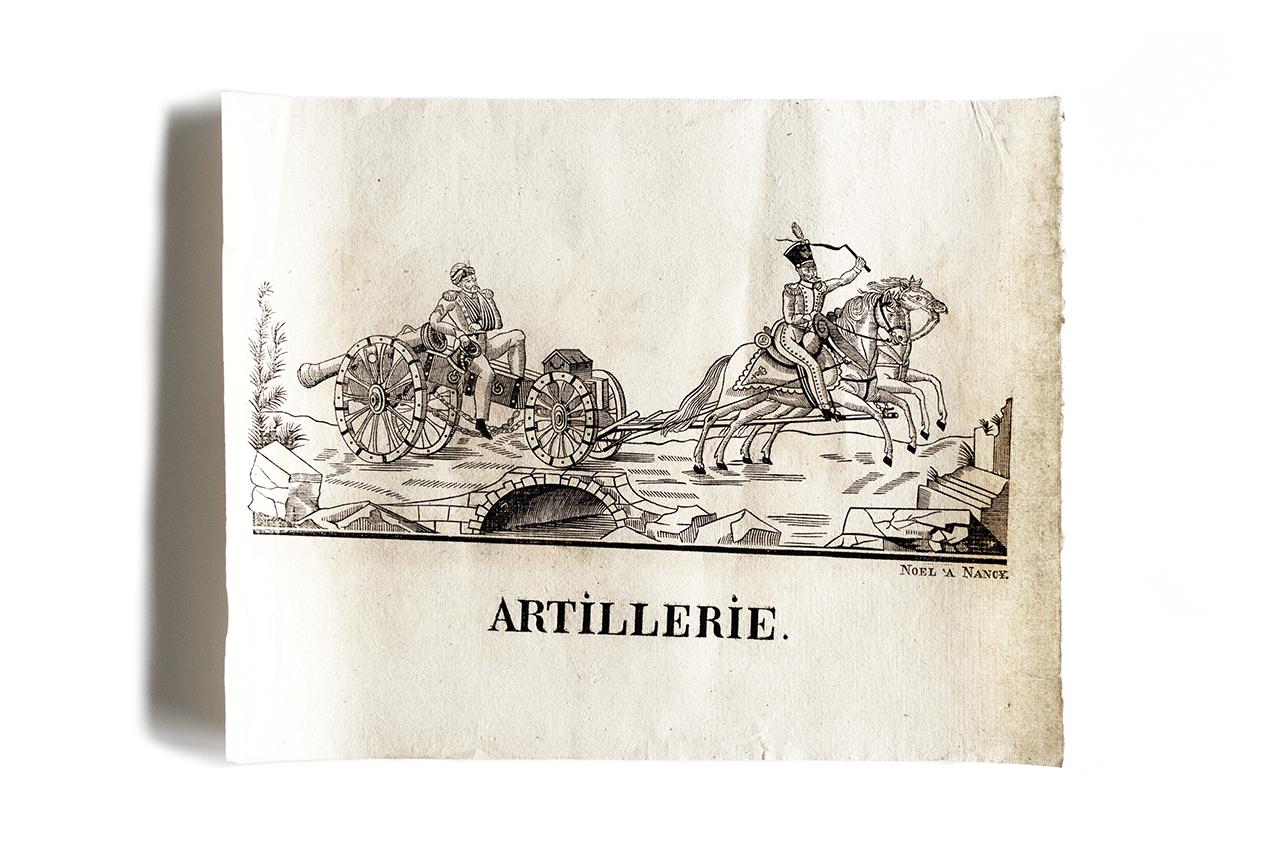 1830年の木版画