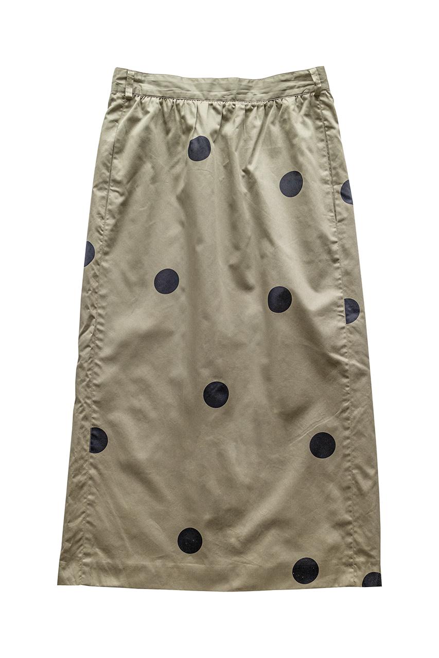 1980年代の巨大水玉模様スカート