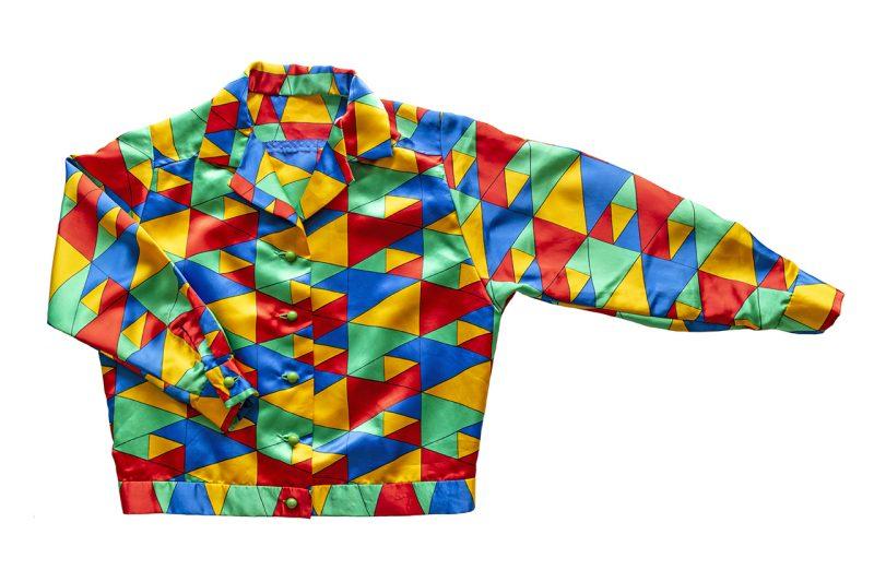 1970年代ピエロ風モチーフのジャケット