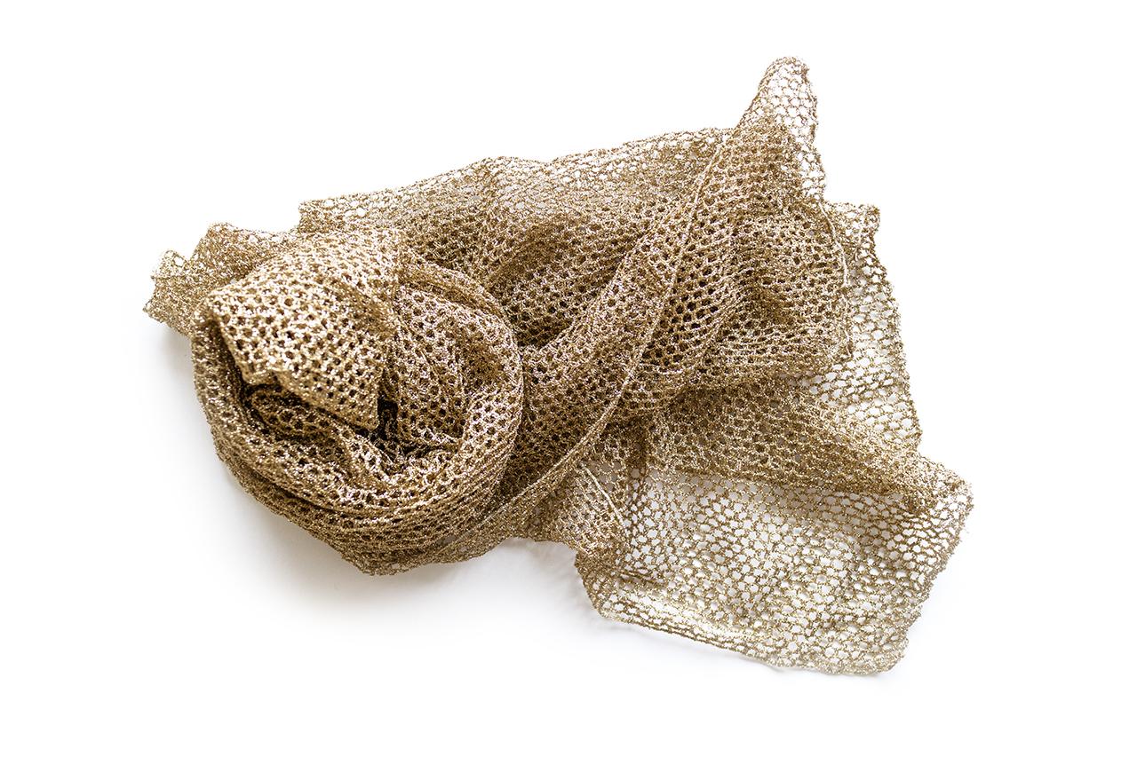 1980年代ゴールドメッシュスカーフ