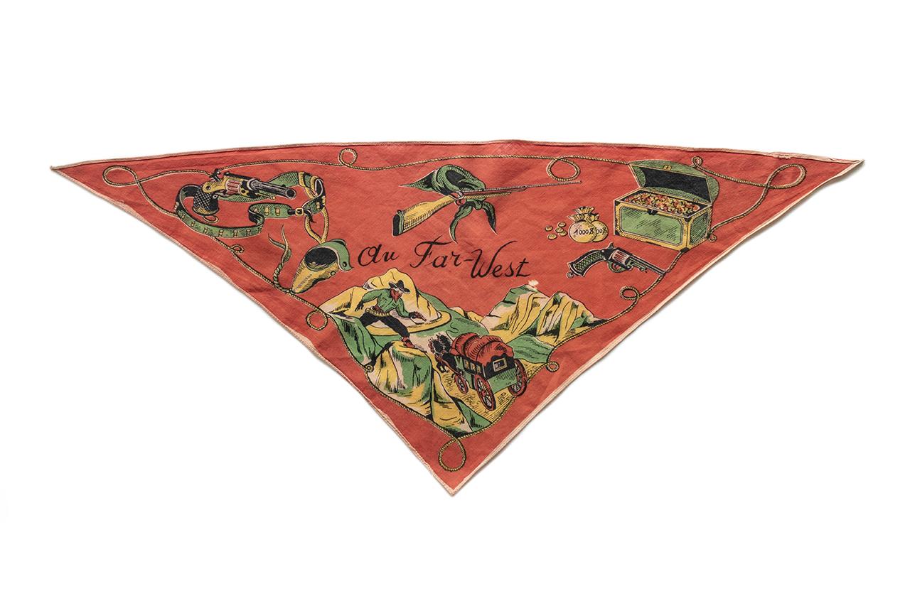 1950年代の少年用三角スカーフ