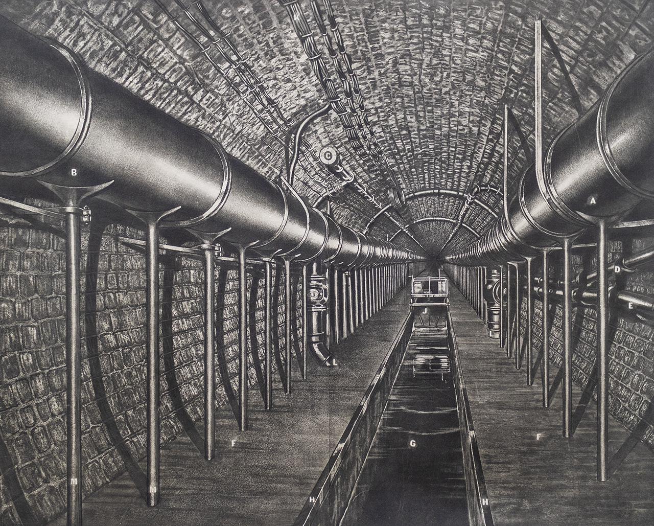 パリの下水道
