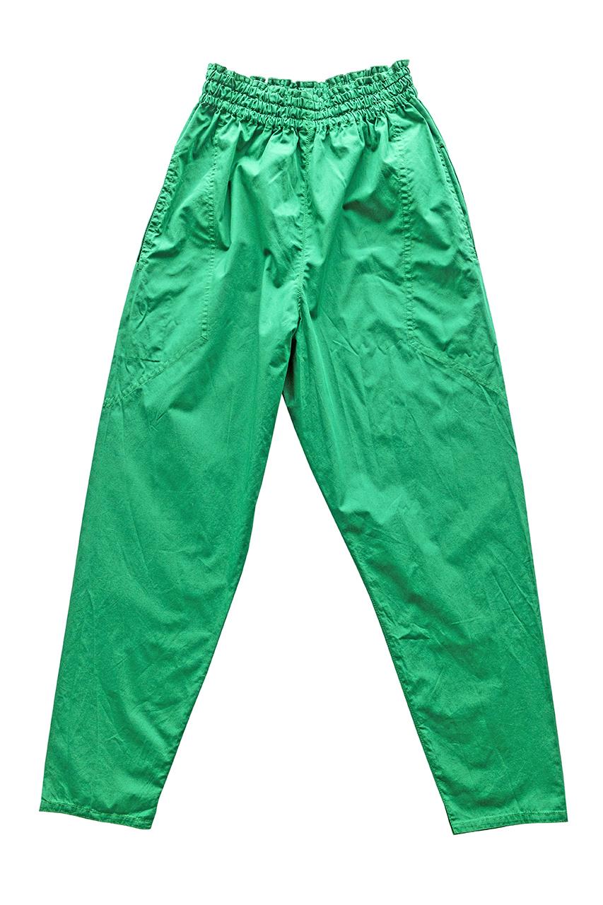1980s グリーンのパンツ