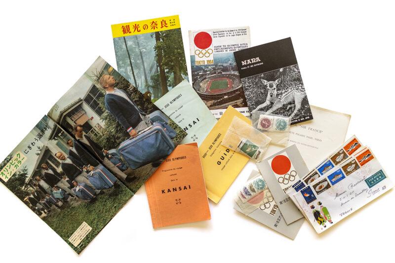 1964年の東京オリンピック関連いろいろ