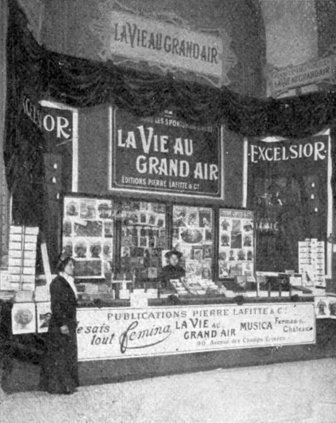 La Vie au grand air, Public domain, via Wikimedia Commons
